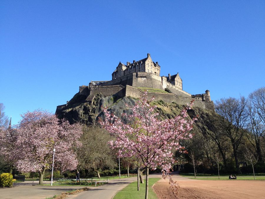 Edinburgh Castle, Scozia