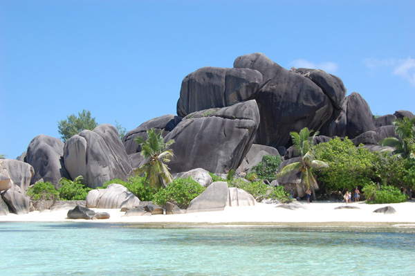 Anse Source D'Argent a La Digue Island