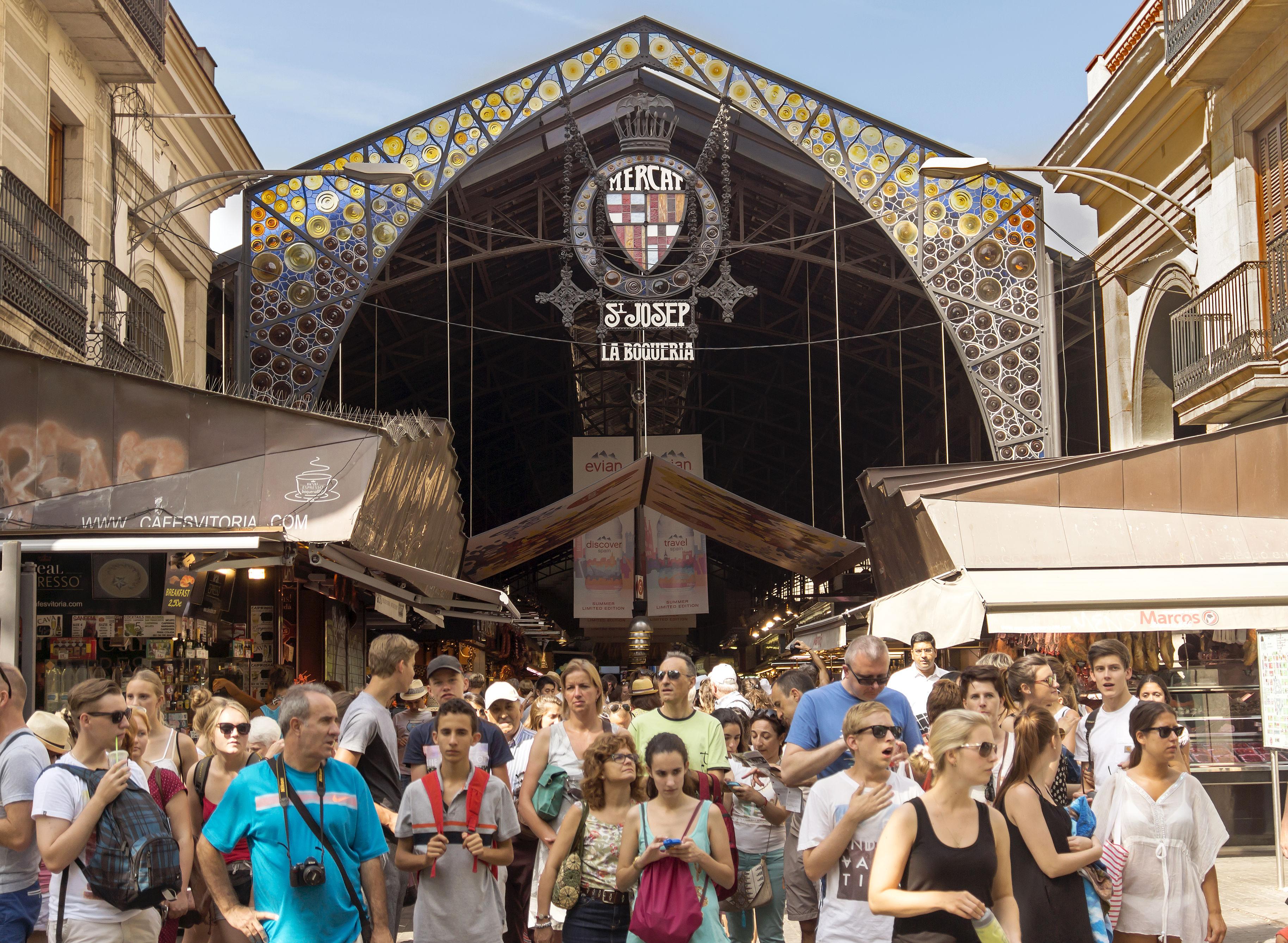 mercato la boqueria barcelona
