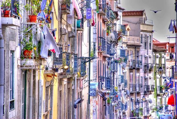 Barrio Alto Lisbona