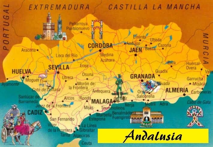 Viaggio Andalusia