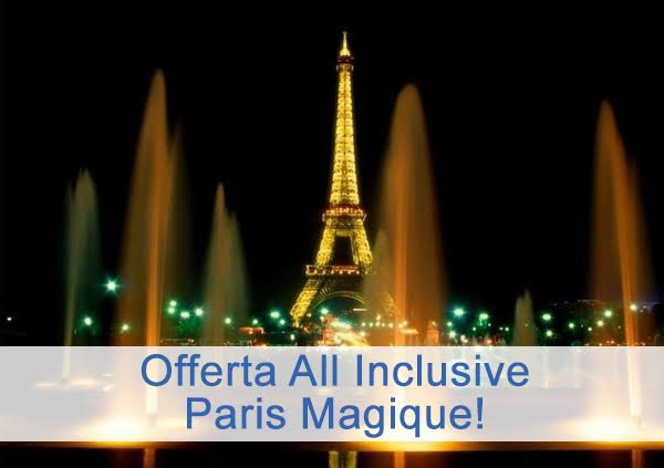 parigi viaggio all inclusive